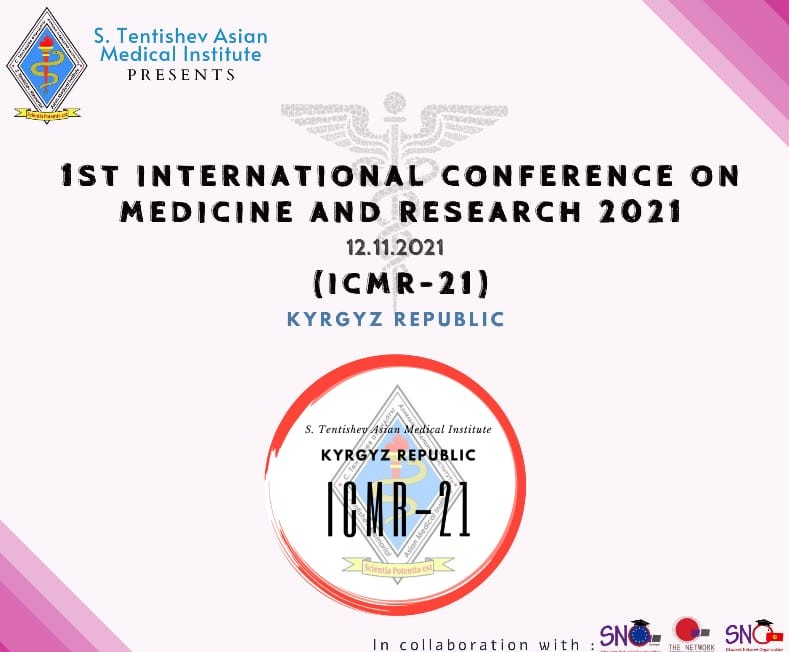 1st International Conference on Medicine and Research 2021 (ICMR-21)